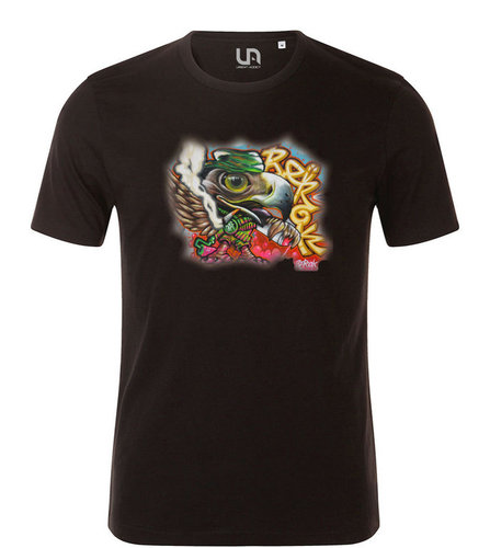 Camiseta UA Graffiti Eagle Berok